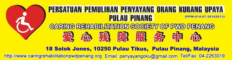 Caring Rehabilitation Society of PWD Penang